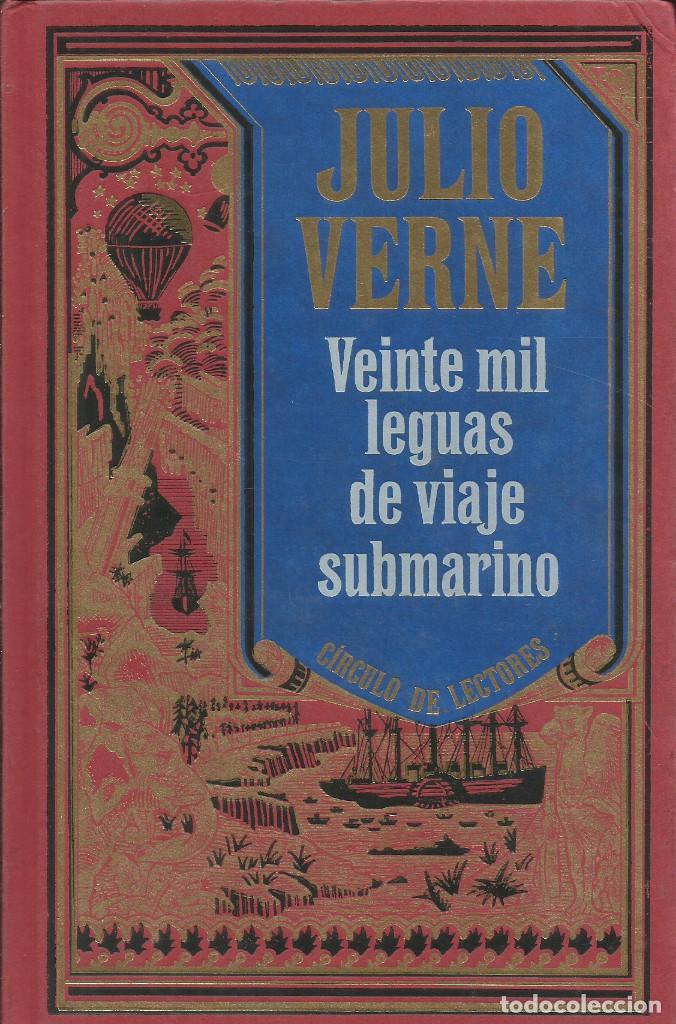 Libros: Colección Julio Verne completa 12 tomos. / Círculo de lectores. - Foto 3 - 263657160