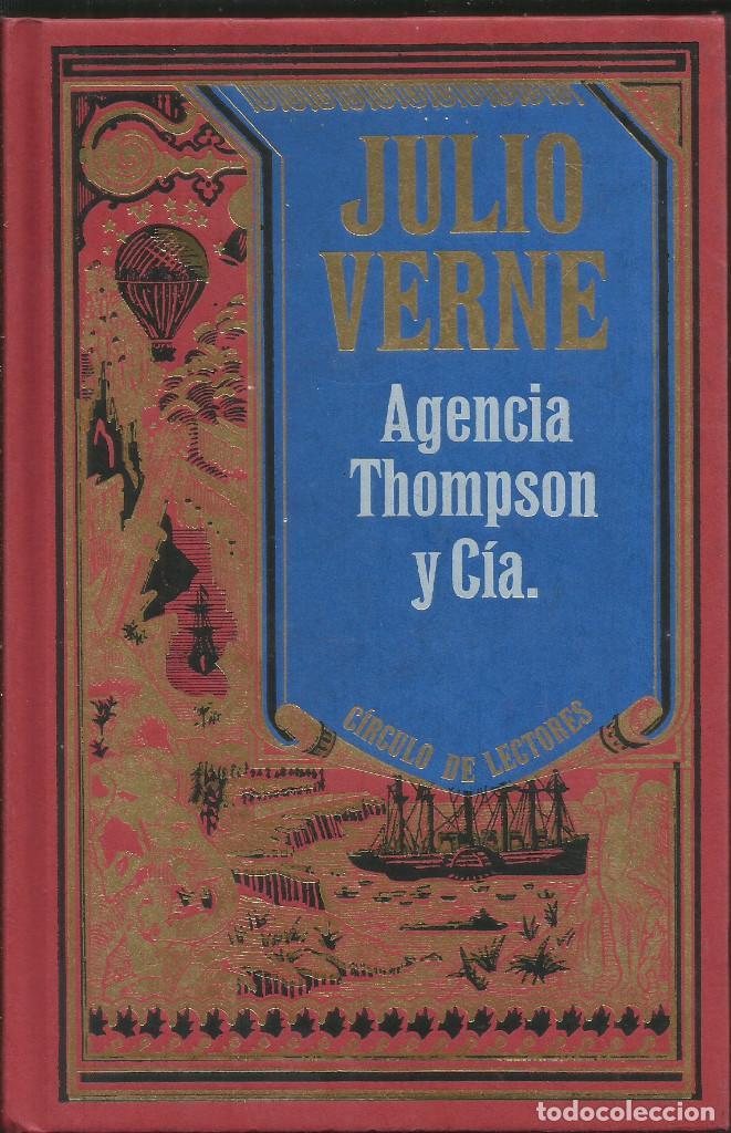 Libros: Colección Julio Verne completa 12 tomos. / Círculo de lectores. - Foto 5 - 263657160