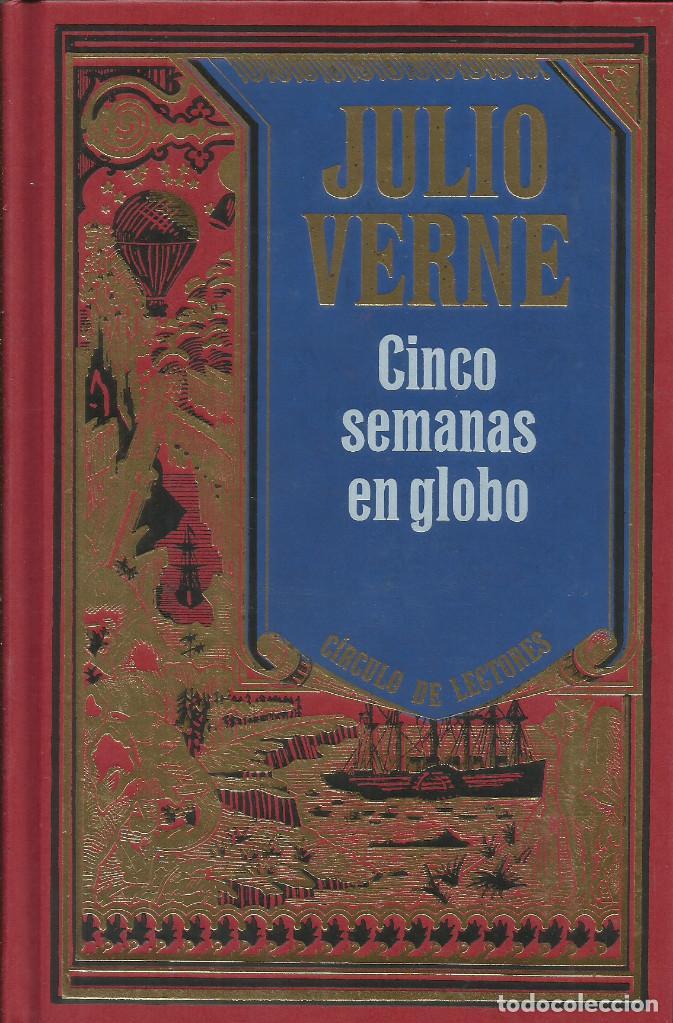 Libros: Colección Julio Verne completa 12 tomos. / Círculo de lectores. - Foto 7 - 263657160