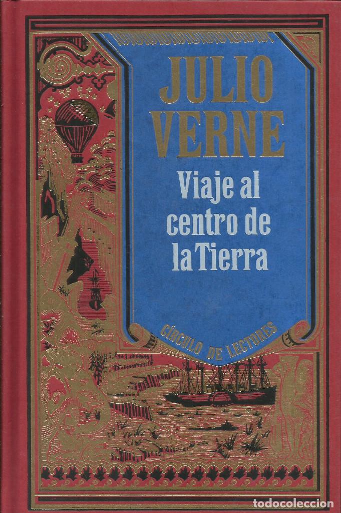 Libros: Colección Julio Verne completa 12 tomos. / Círculo de lectores. - Foto 11 - 263657160