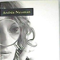 Libros: ALUMBRAMIENTO. - NEUMAN, ANDRÉS.-. Lote 263421875