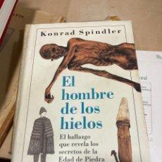 Libros: LIBRO EL HOMBRE DE LOS HIELOS. Lote 264989534