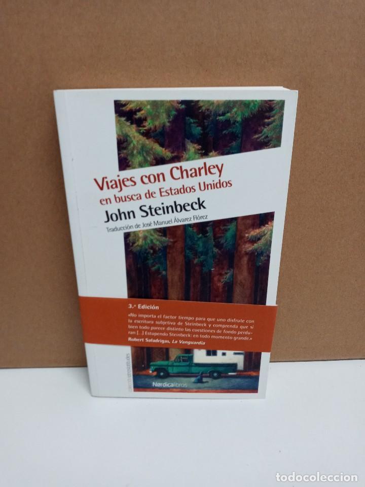 JOHN SKINBECK - VIAJES CON CHARLEY EN BUSCA DE USA - NORDICA LIBROS (Libros Nuevos - Literatura - Narrativa - Aventuras)