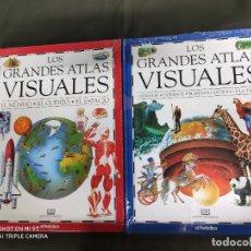 Libros: LOS GRANDES ATLAS VISUALES. DOS VOLUMENES . PRECINTADOS. Lote 266363013