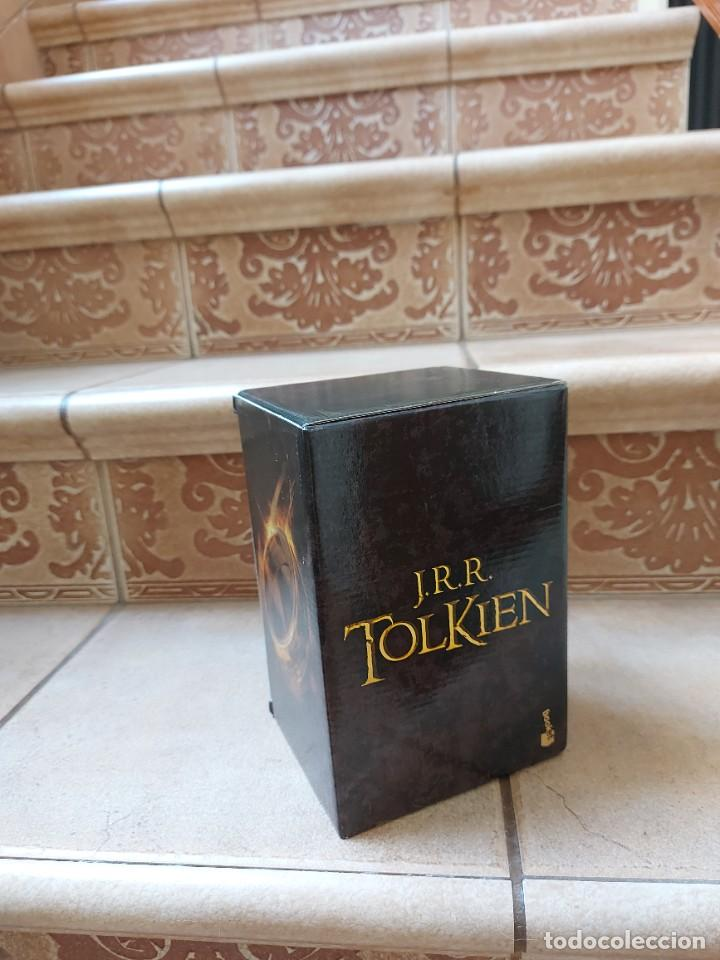 Libros: ESTUCHE EL SEÑOR DE LOS ANILLOS Y EL HOBBIT - Foto 3 - 266573178