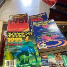 Libros: LOTE DE ALMANAQUES MUNDIALES, 16 MÁS 3 DE REGALO. Lote 266719383