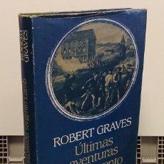 Livros em segunda mão: ÚLTIMAS AVENTURAS DEL SARGENTO LAMB - ROBERT GRAVES. Lote 266860824