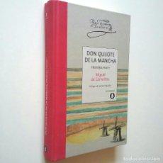 Libros: MIGUEL DE CERVANTES (PRÓLOGO DE ANDRÉS TRAPIELLO) - DON QUIJOTE DE LA MANCHA. PRIMERA PARTE. Lote 266988204