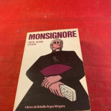 Libros: MONSIGNORE. Lote 267567234
