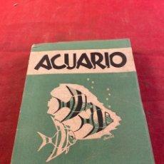 Libros: ACUARIO. Lote 267570089