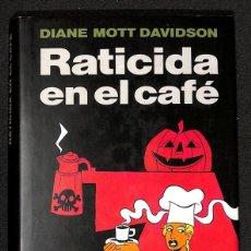 Libros: RATICIDA EN EL CAFÉ - DIANE MOTT DAVIDSON. Lote 267740814