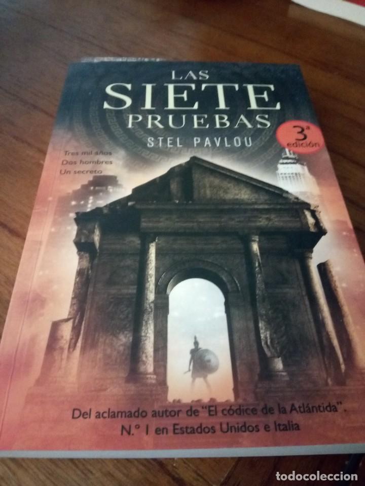 LAS SIETE PRUEBAS - STEL PAVLOU (Libros Nuevos - Literatura - Narrativa - Aventuras)