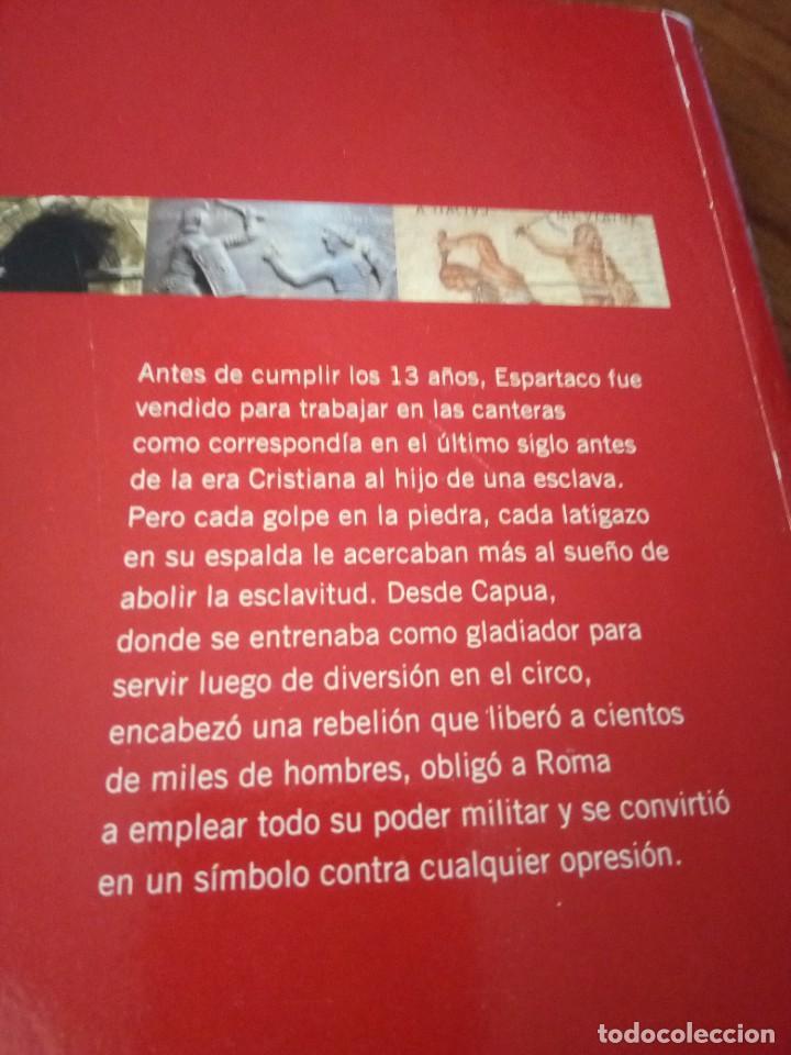 Libros: Espartaco - Howard Fast - Foto 3 - 267769379