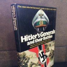 Libros: HITLER'S GENERALS AND THEIR BATTLES (A SALAMANDER BOOK). BIDWELL, SHELFORD. INGLÉS.. Lote 267789154
