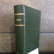 Libros: AGENDA VICTORIA 1984. ESPECIALIDADES BENTIFOL. COLECCIONISTAS.. Lote 267789194