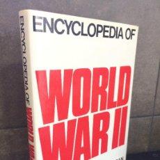 Libros: ENCYCLOPEDIA OF WORLD WAR II. KEEGAN, JOHN. (EDITOR).. Lote 267789214