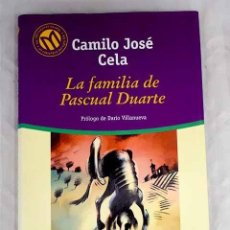 Libros: LA FAMILIA DE PASCUAL DUARTE.- CELA, CAMILO JOSÉ. Lote 267853914