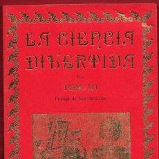 Libros: LA CIENCIA DIVERTIDA.TOM TIT.EDITORJOSÉ J. DE OLAÑETA.126 PÁGINAS.AÑO 1981. LE3960. Lote 267877069