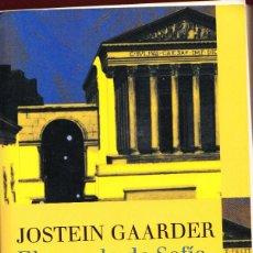 Libros: EL MUNDO DE SOFÍA.JOSTEIN GAARDER.638 PÁGINAS.AÑO 2013. LE3961. Lote 267880144