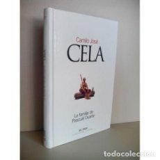 Libros: LA FAMILIA DE PASCUAL DUARTE - CELA, CAMILO JOSÉ. Lote 267928179