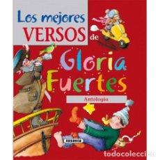 Libros: LOS MEJORES VERSOS DE GLORIA FUERTES - FUERTES, GLORIA. Lote 267995074