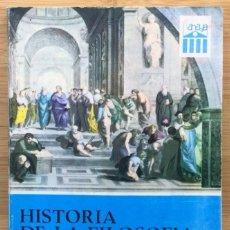 Libros: HISTORIA DE LA FILOSOFÍA Y DE LAS CIENCIAS (CURSO PREUNIVERSITARIO) - MANUEL MINDÁN MANERO (CATEDR. Lote 268038354