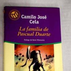 Libros: LA FAMILIA DE PASCUAL DUARTE.- CELA, CAMILO JOSÉ. Lote 268181839