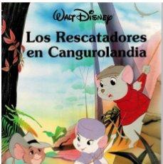 Libros: LOS RESCATADORES EN CANGUROLANDIA (WALT DISNEY). Lote 268315464