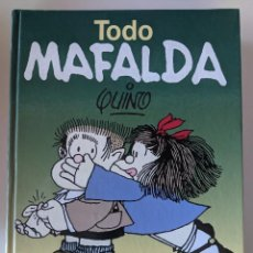 Libros: TODO MAFALDA - QUINO - EDITORIAL LUMEN - GRAN VOLUMEN - PROLOGADO POR GABRIEL GARCIA MARQUEZ. Lote 268318764