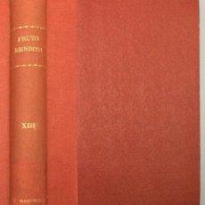 Libros: FRUTO BENDITO - EDUARDO MARQUINA. Lote 268409239