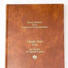 Libros: LA FAMILIA DE PASCUAL DUARTE.- CELA, CAMILO JOSÉ. Lote 268481704