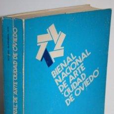 Libros: 1 BIENAL NACIONAL DE ARTE CIUDAD DE OVIEDO - V.V.A.A.. Lote 268612234