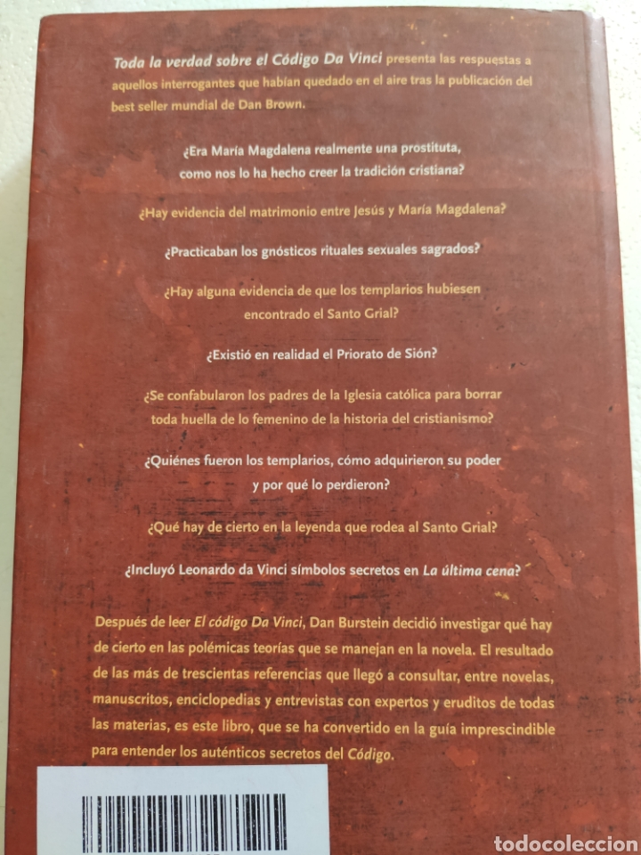 Libros: Toda la verdad sobre el Código Da Vinci. Dan Burstein - Foto 2 - 268741879