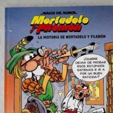 Libros: LA HISTORIA DE MORTADELO Y FILEMÓN.- IBÁÑEZ, F.. Lote 268790139