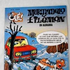 Libros: MORTADELO Y FILEMÓN EN ALEMANIA.- IBÁÑEZ, F.. Lote 268790169