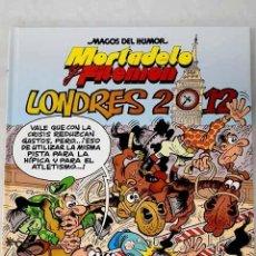 Libros: LONDRES 2012: UNA AVENTURA DE MORTADELO Y FILEMÓN.- IBÁÑEZ, F.. Lote 268790189