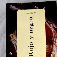 Libros: ROJO Y NEGRO.- STENDHAL. Lote 268790234
