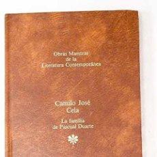Libros: LA FAMILIA DE PASCUAL DUARTE.- CELA, CAMILO JOSÉ. Lote 268792994