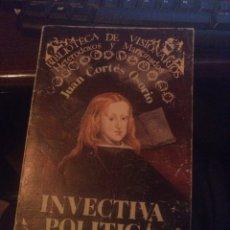 Libros: INVECTIVA POLÍTICA 1984. Lote 268896734