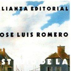 Libros: ESTUDIO DE LA MENTALIDAD BURGUESA - ROMERO, JOSÉ LUIS. Lote 269064713