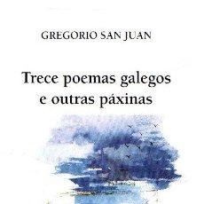 Libros: TRECE POEMAS GALEGOS E OUTRAS PÁXINAS - SAN JUAN GARCÍA, GREGORIO. Lote 269064793