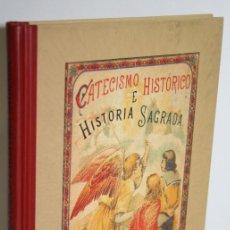 Libros: CATECISMO HISTÓRICO E HISTORIA SAGRADA - FLEURY, C. TORRE Y MARCO, M.. Lote 269129043