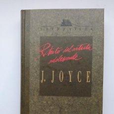 Libros: RETRATO DEL ARTISTA ADOLESCENTE. ORBIS FABBRI. - JAMES JOYCE. TDK273. Lote 269117343