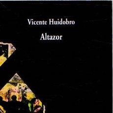 Libros: ALTAZOR - HUIDOBRO, VICENTE. Lote 269195693