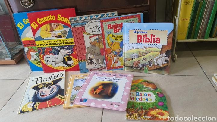 LOTE DE CUENTOS INFANTILES (Libros sin clasificar)