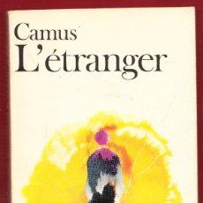 Libros: L´ÉTRANGER .ALBERT CAMUS. 185.PÁGINAS.AÑO 1976. LE3992. Lote 269203603
