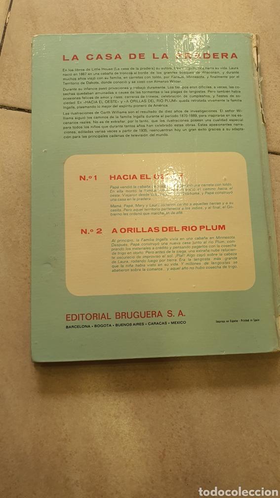 Libros: Lote de dos tomos,la casa de la pradera I ,II - Foto 2 - 269204643