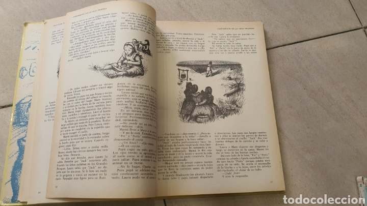 Libros: Lote de dos tomos,la casa de la pradera I ,II - Foto 12 - 269204643