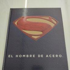 Libros: EL HOMBRE DE ACERO. EL LEGENDARIO MUNDO DE SUPERMAN - DANIEL WALLACE - TIMUN MAS PERFECTO ESTADO. Lote 269213713