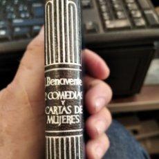 Libros: JACINTO BENAVENTE, COMEDIAS, CRISOL AGUILAR PIEL. Lote 269215013